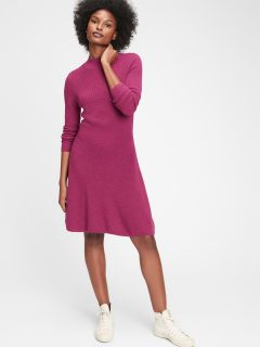 Vínové dámské šaty GAP