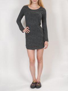 Element NEEN black krátké letní šaty – šedá