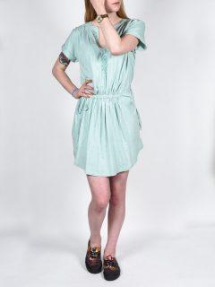 Roxy LUCKY BFR0 krátké letní šaty – šedá