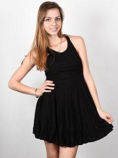 Element RANIA black krátké letní šaty – černá