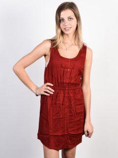 Element SKY RED DALHIA krátké letní šaty – červená