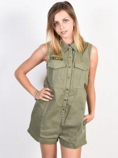 Element TOM MOSS GREEN krátké letní šaty – zelená