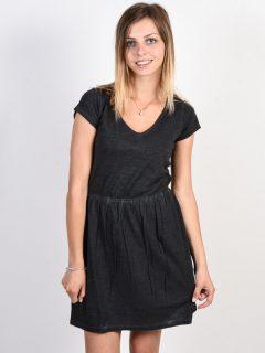 RVCA SHIFTER black krátké letní šaty – černá
