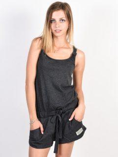 Picture Abby black krátké letní šaty – černá