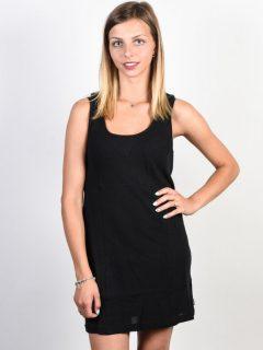 Element FINALLY black krátké letní šaty – černá