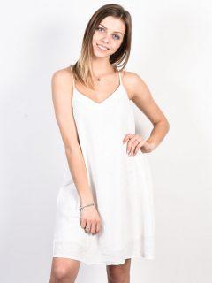Roxy OFF WE GO Marshmallow krátké letní šaty – bílá