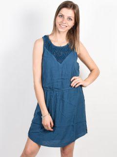 Rip Curl KELLY STELLAR krátké letní šaty – modrá