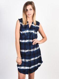 Element NON STOP ECLIPSE NAVY krátké letní šaty – modrá