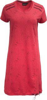 Dámská šaty, sukně ALPINE PRO LEXA červená