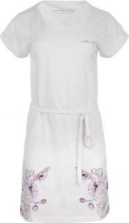 Dámská šaty, sukně ALPINE PRO LADA bílá