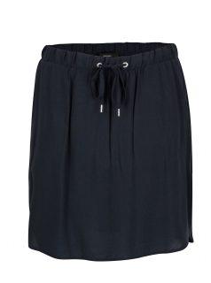 Tmavě modrá sukně VERO MODA Boca