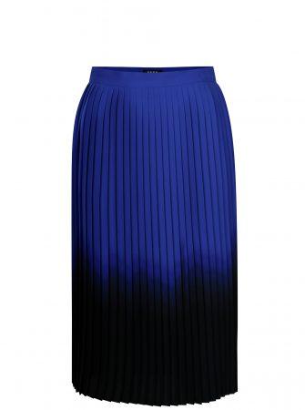 b0217c0e6844 Modro-černá plisovaná sukně DKNY - Sukně