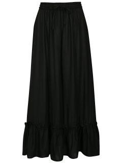 Černá maxi sukně Noisy May Festi