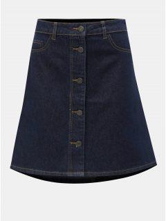 Tmavě modrá džínová sukně Noisy May Sunny