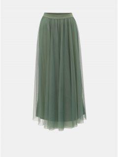 Zelená maxi sukně VERO MODA Celisa