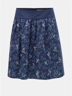 Modrá vzorovaná sukně Brakeburn Hummingbird
