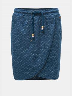 Modrá vzorovaná sukně Ragwear Naila