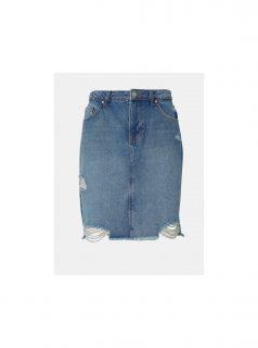 Modrá džínová sukně Tom Tailor Denim