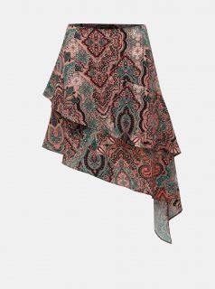 Korálová vzorovaná sukně TALLY WEiJL
