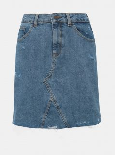 Modrá džínová sukně Noisy May Rosina