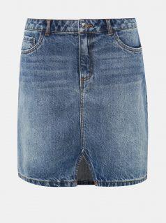 Modrá džínová sukně VERO MODA Asla