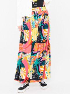 Femi Stories STIGA FYNG dlouhá letní sukně – barevné