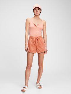 """Oranžové dámské džínové kraťasy 6 swim trunks """""""
