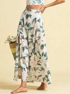 Billabong PEACHY KEEN MULTI dlouhá letní sukně – zelená