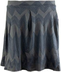 Dámská sukně ALPINE PRO HALLA šedá